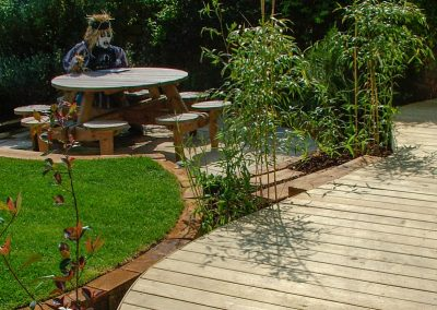 Decking and Garden Table