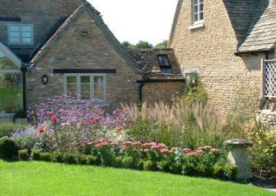 Modern Cottage Border Planting