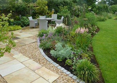New Indian Sandstone Paving with Granite